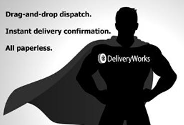 Holy efficiency, Dispatch-man! We've got DeliveryWorks!