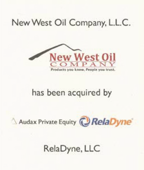 Case Study: Matrix announces the successful sale of New West Oil Company, LLC